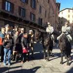 13 gennaio cavalli CFS con assessore e ragazzi